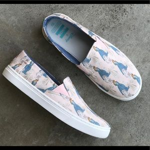 Toms x Disney Sleeping Beauty shoes